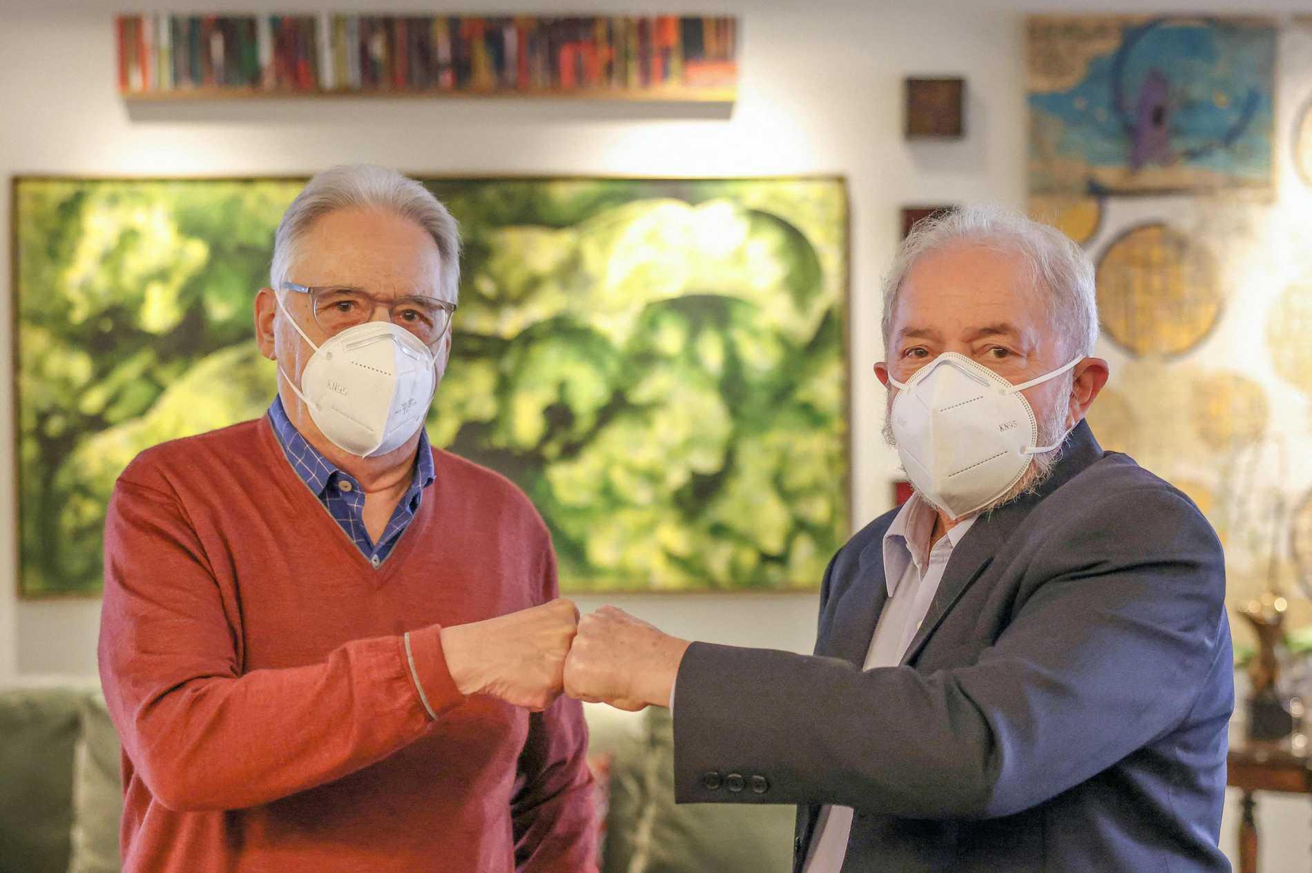 Rivaler i gemensam front mot Bolsonaro