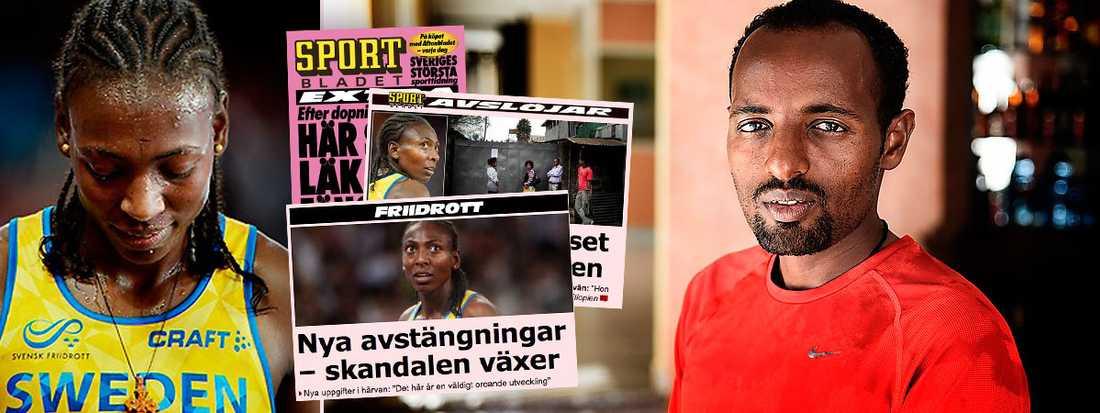 Hammarby Friidrott sparkade Abeba Aregawi efter att det blivit känt att hon fastnat i ett dopningstest.