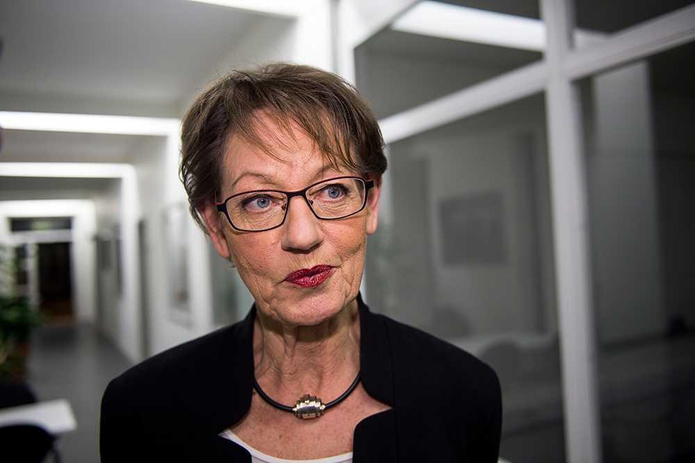 """Gudrun Schyman, 65 år, talesperson (FI), före detta partiledare (V), Stockholm """"De ska båda vara lika närvarande som föräldrar."""""""