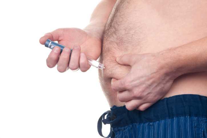 """Inget viktras """"En vikteffekt på ett par tre kilo efter några månaders behandling"""", säger överläkaren Björn Eliasson."""