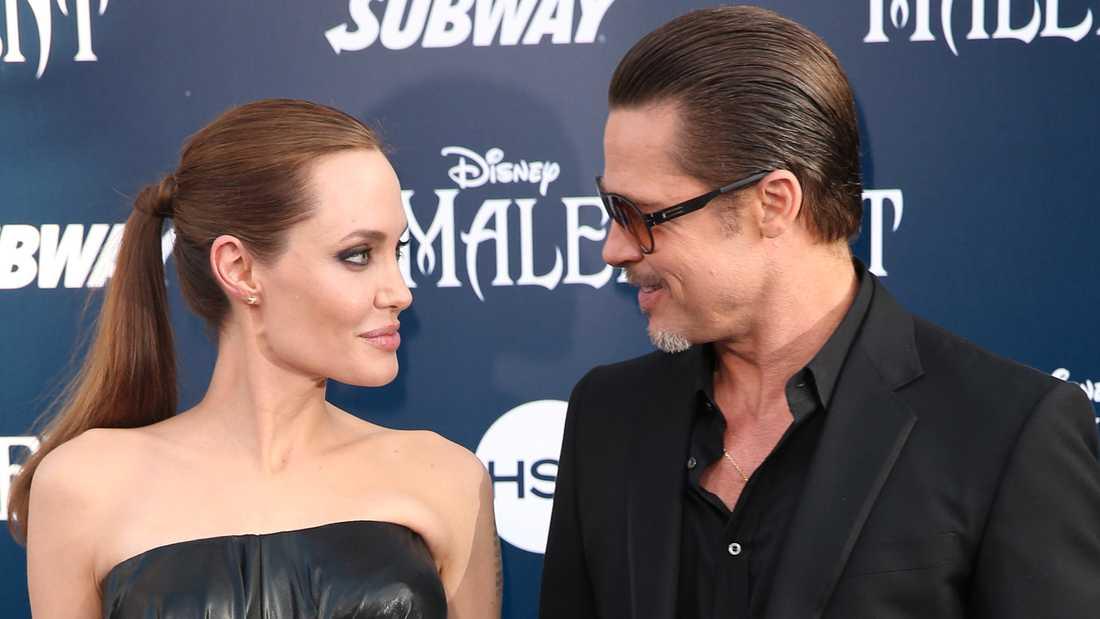 Jolie hoppades att ett gemensamt projekt skulle rädda parets tvåsamhet.