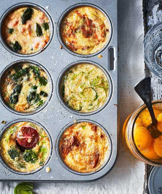 Ta vara på resterna och fixa goda omelettermuffins.
