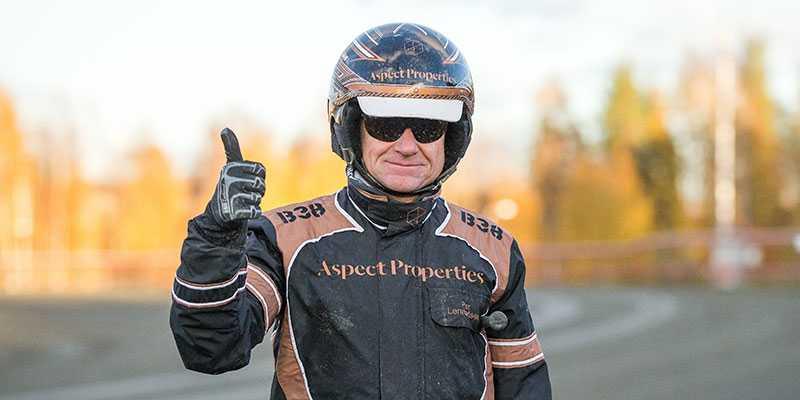 Per Lennartsson tillbaka efter canceroperationen. Vann direkt.