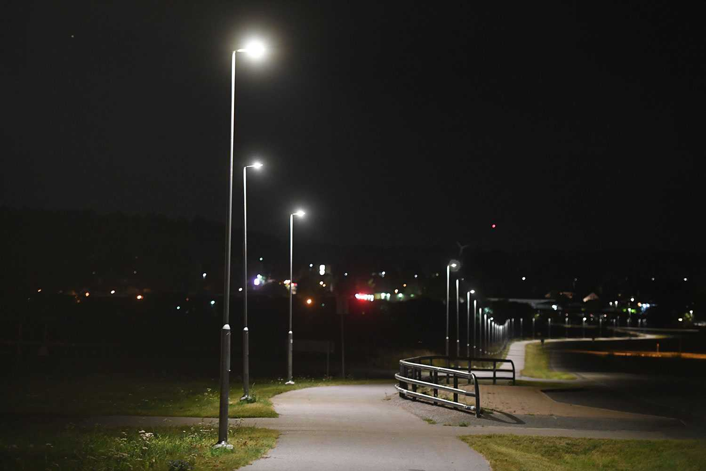 Kvinnan överfölls på en cykelväg i Bålsta.