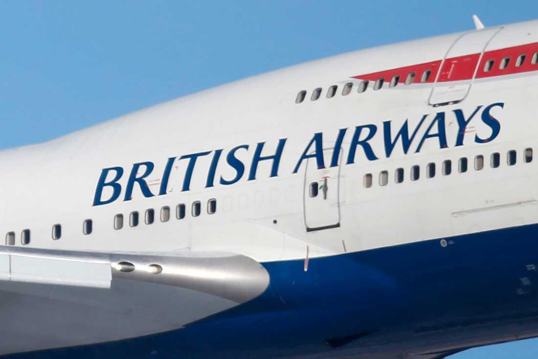 Ett British Airways-plan nödlandade i Spanien.