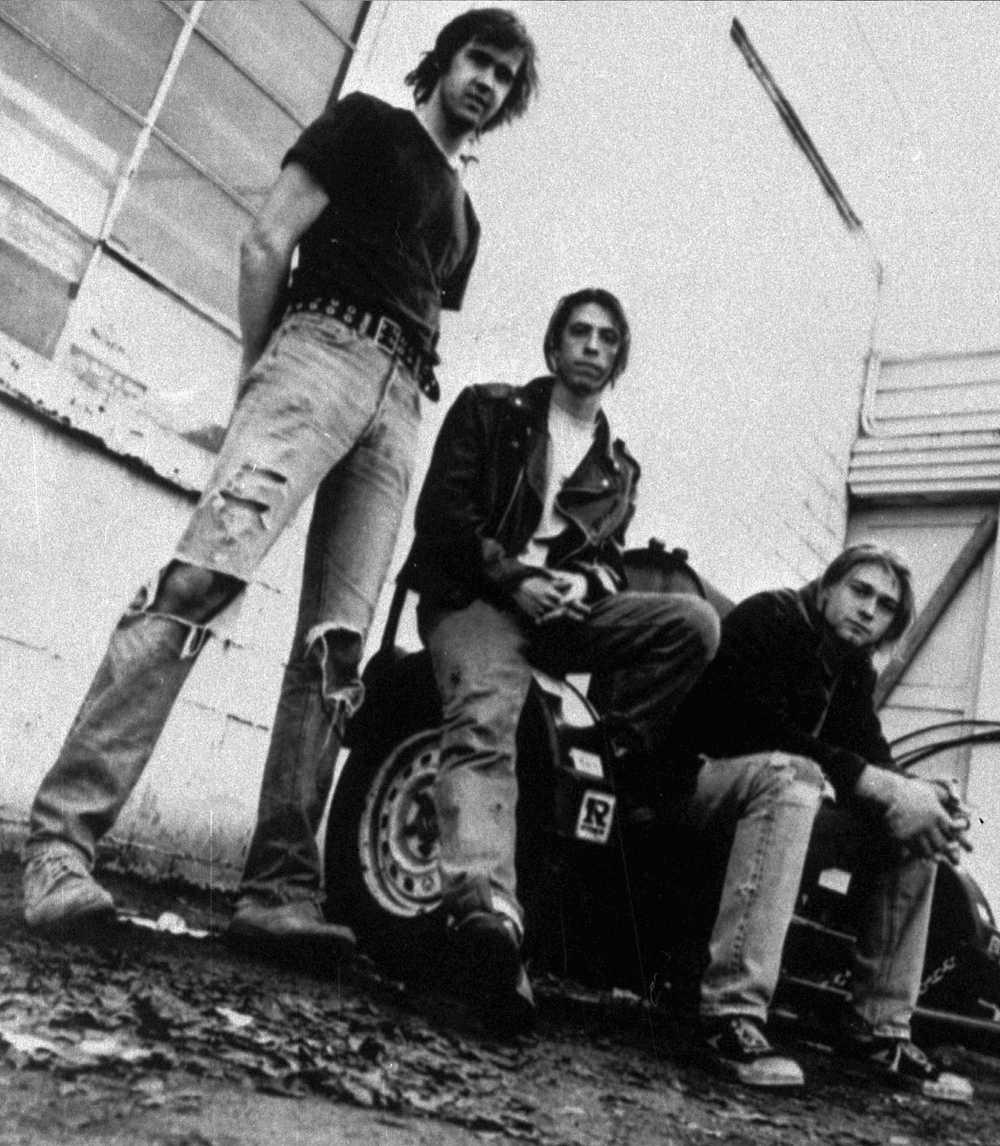 Nirvana när det begav sig.