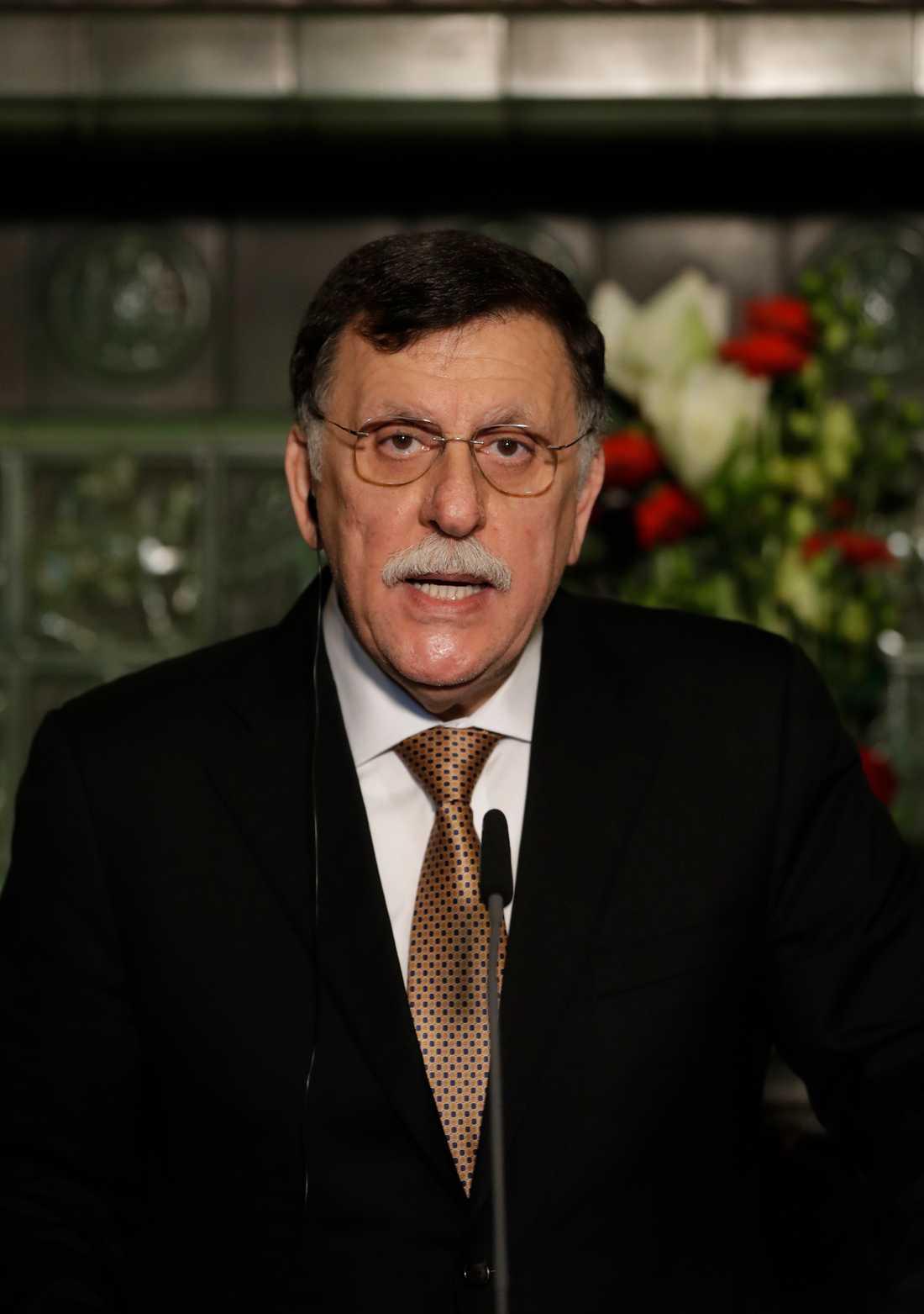 Libyens premiärminister Fayez al-Sarraj.