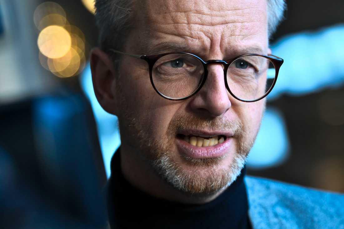 Inrikesminister Mikael Damberg (S). Arkivbild