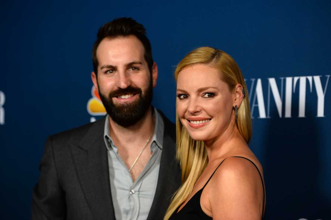 Katherine Heigl med maken,musikern Josh Kelley