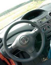 Toyota har fin styrkänsla.