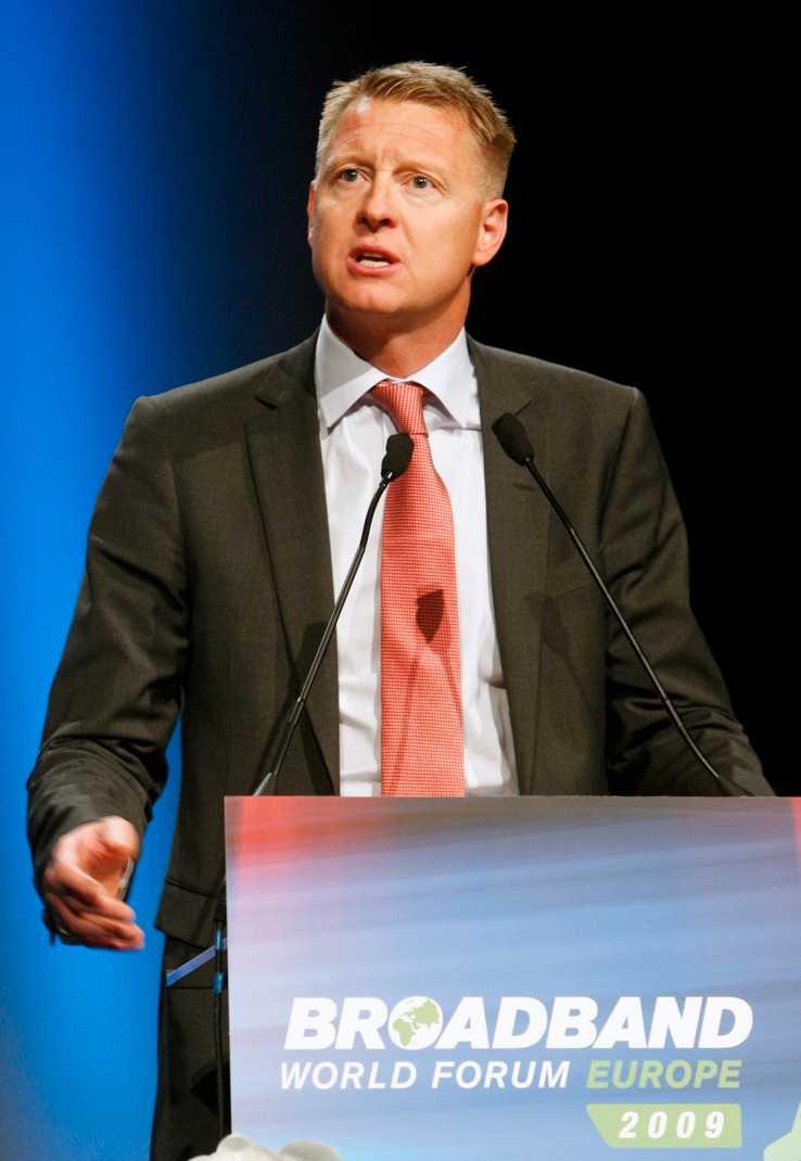 Ericssonchefen Hans Vestberg.