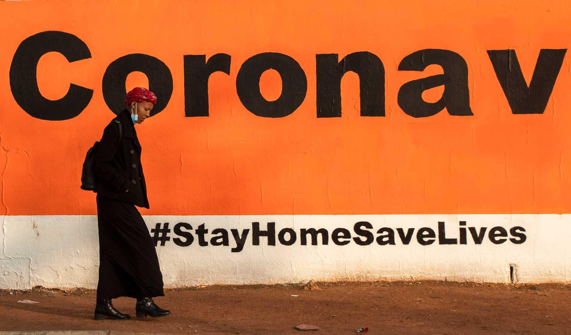Coronalån ska minska virussmäll i Sydafrika