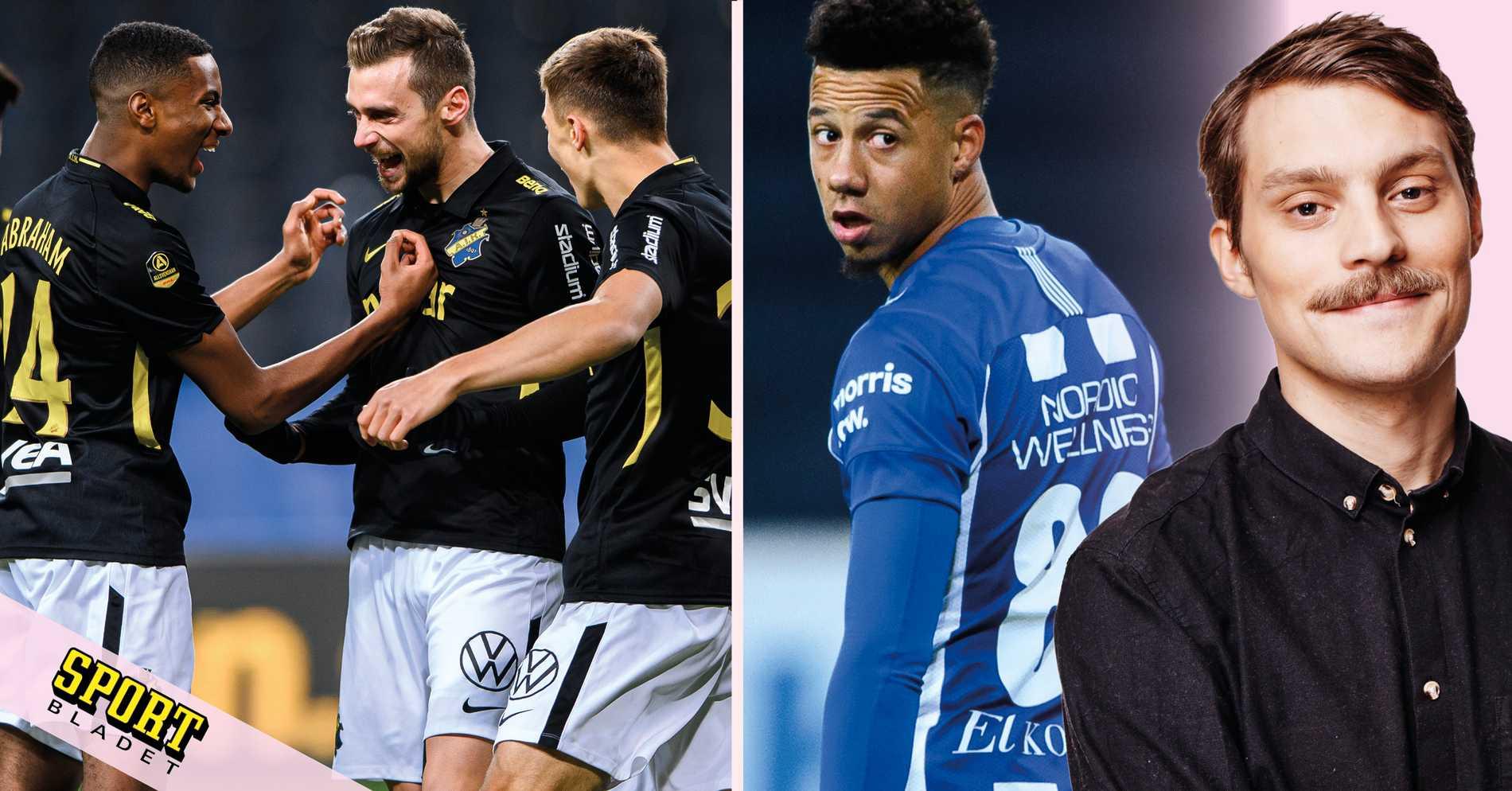 Fem punkter: AIK-IFK Göteborg