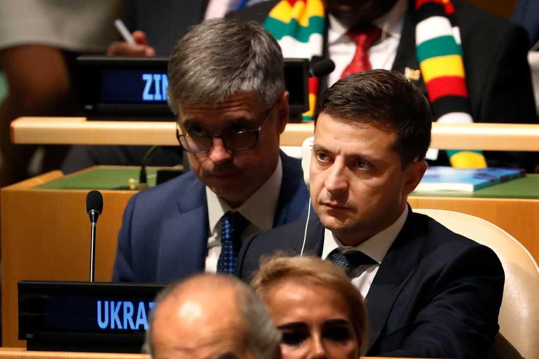 Volodymyr Zelenskyj, Ukrainas president