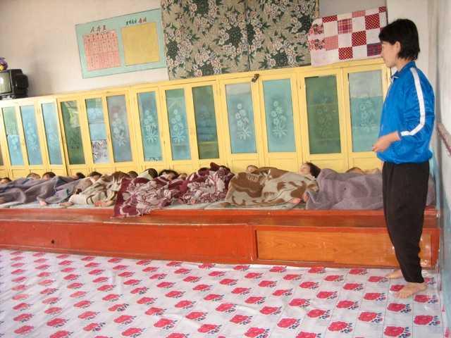 Vilotid… …i ett av barnhemmen.