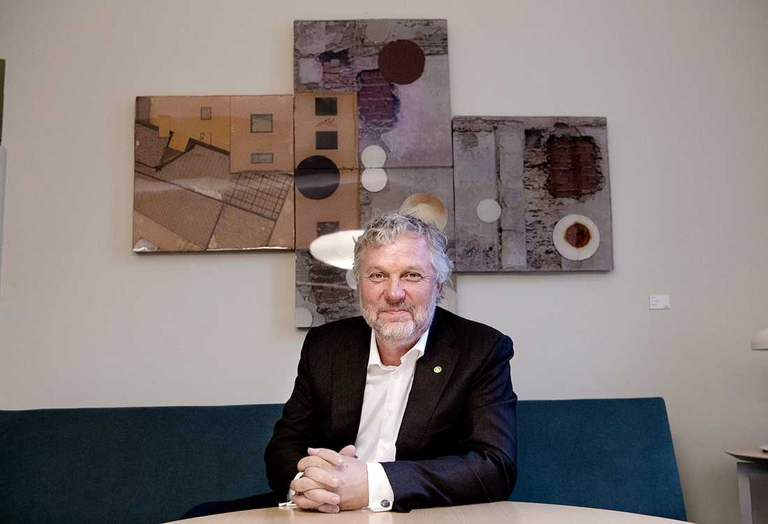 """""""Det är ett viktigt jobb och viktiga frågor jag får ansvar för"""", säger Peter Eriksson (MP)."""