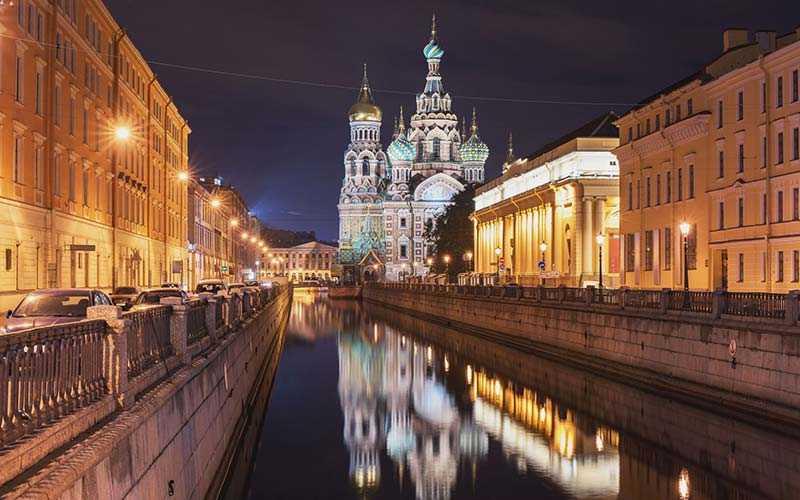 Med sina 455 kronor i snittpris för en hotellnatt var Sankt Petersburg i Ryssland Europas billigaste alternativ när det gällde en hotellnatt
