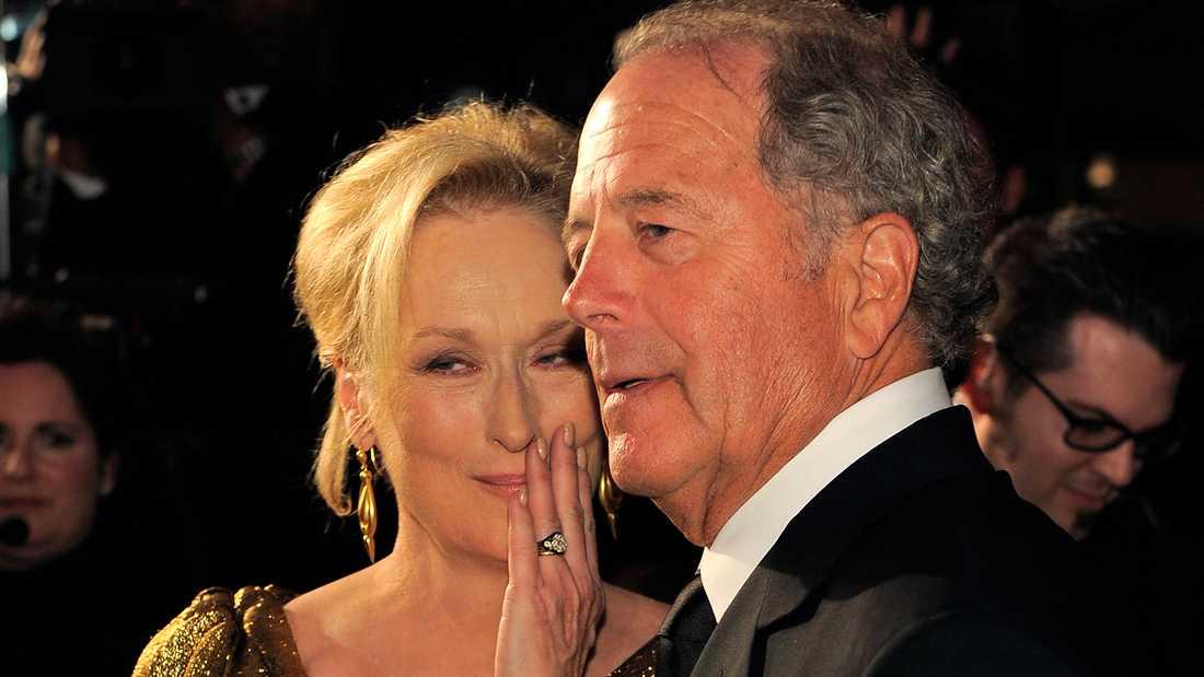 Meryl Streep med maken Don Gummer.