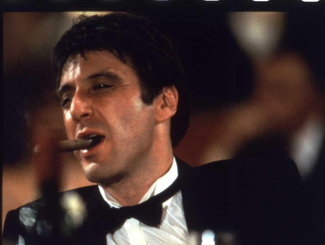 "Al Pacino i ""Scarface""."