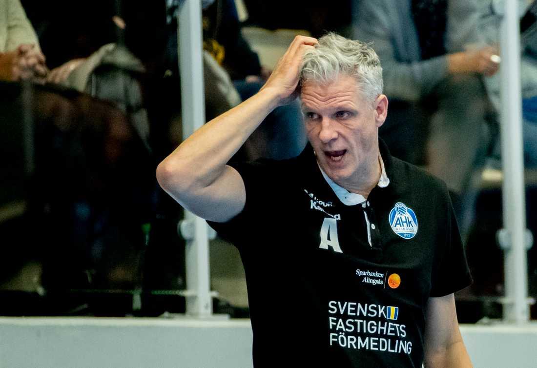 Mikael Franzén fick tänka om när Sverige fick en ny premiärmotståndare i handbolls-VM. Arkivbild.