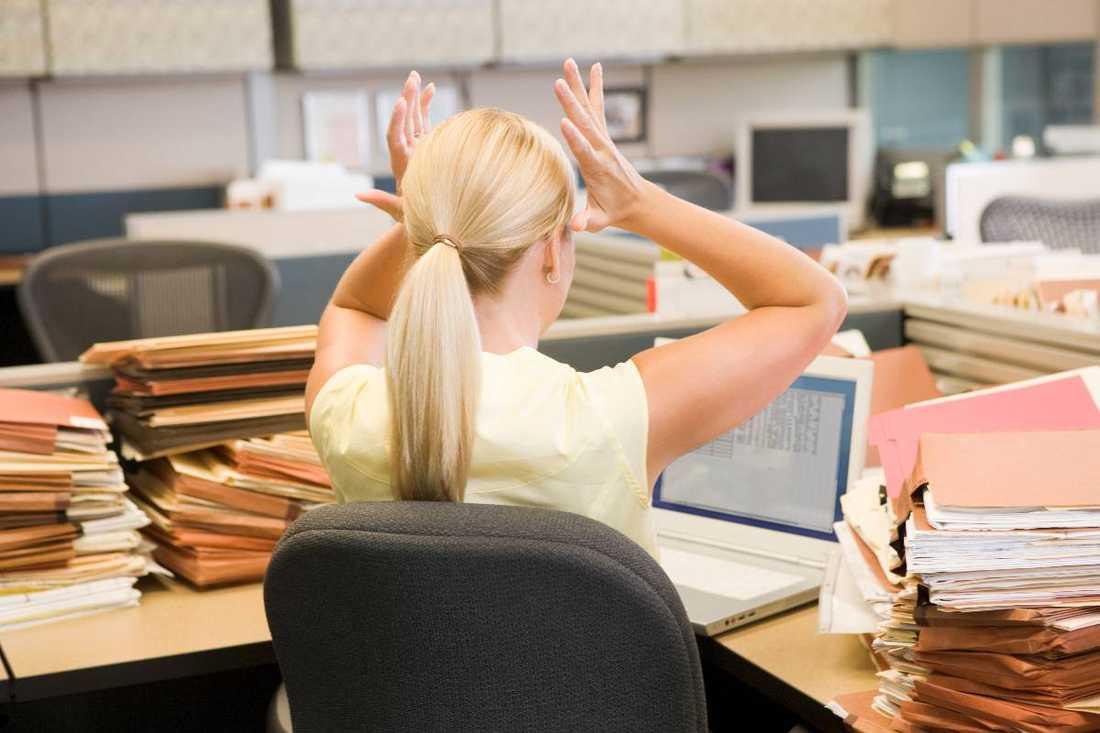 Stress, press och förändrade villkor i arbetslivet gör människor sjuka.