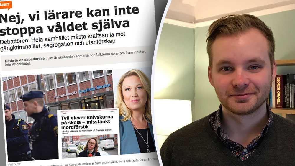 Johanna Jaara Åstrand, ordförande för lärarförbundet,  missar en mycket viktig del av pusslet. Min uppfattning är att det på många skolor råder en utbred normlöshet, skriver Alexander Akterin, gymnasielärare.