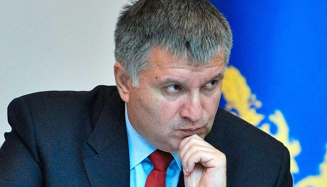 Arsen Avakov är Ukrainas inrikesminister.