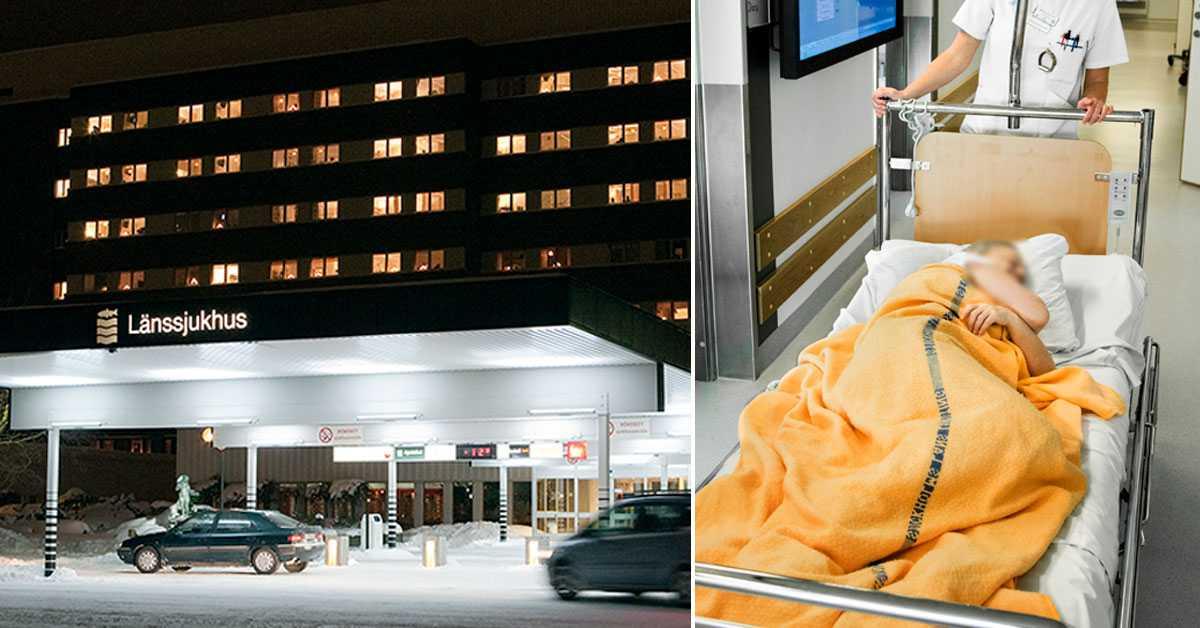 """Corona sprids på svenska sjukhus: """"Måste ha blivit smittad här"""""""