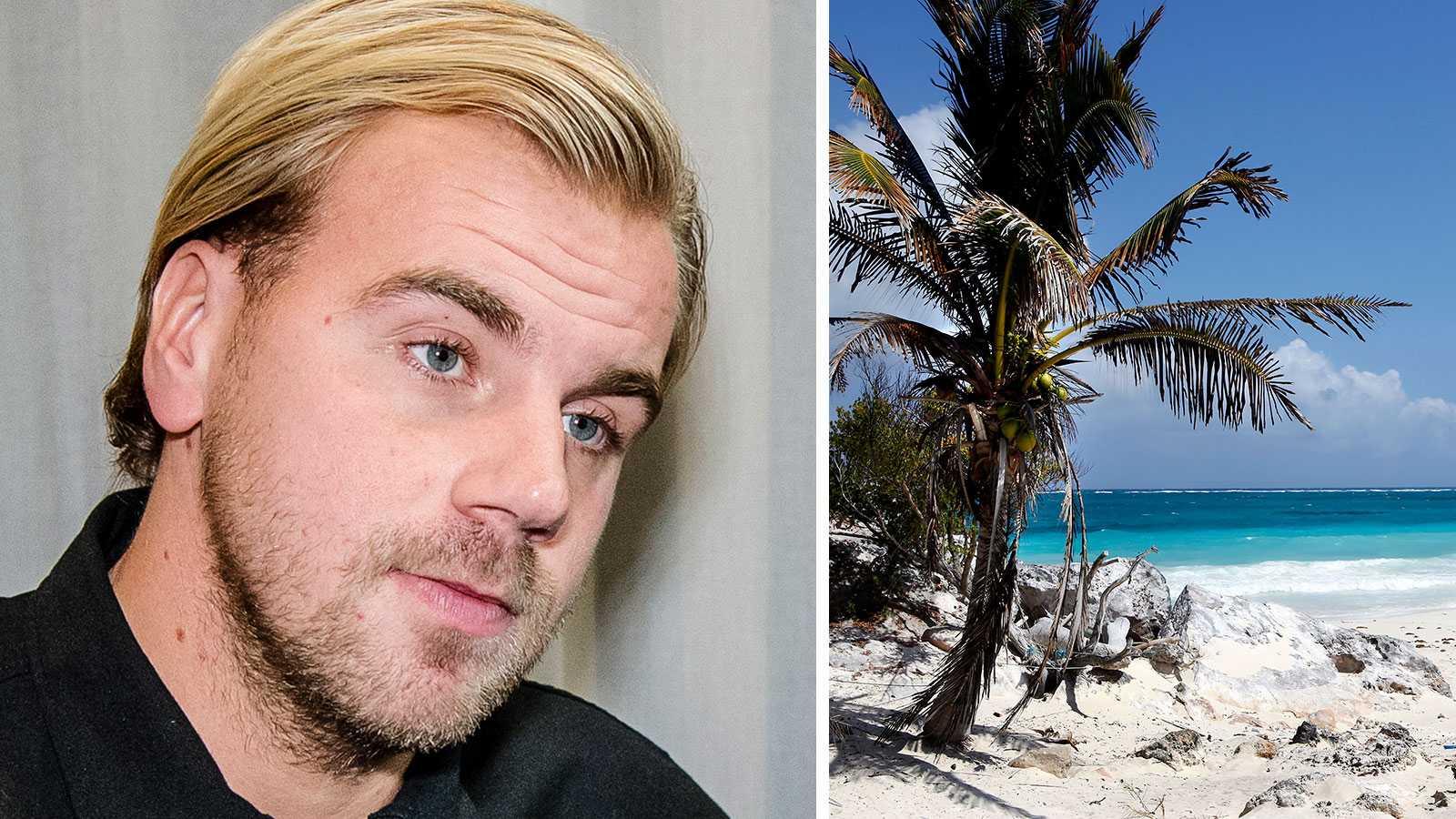 """Robin """"Mos"""" Andersson akut till sjukhus under """"Paradise hotel""""-inspelning"""