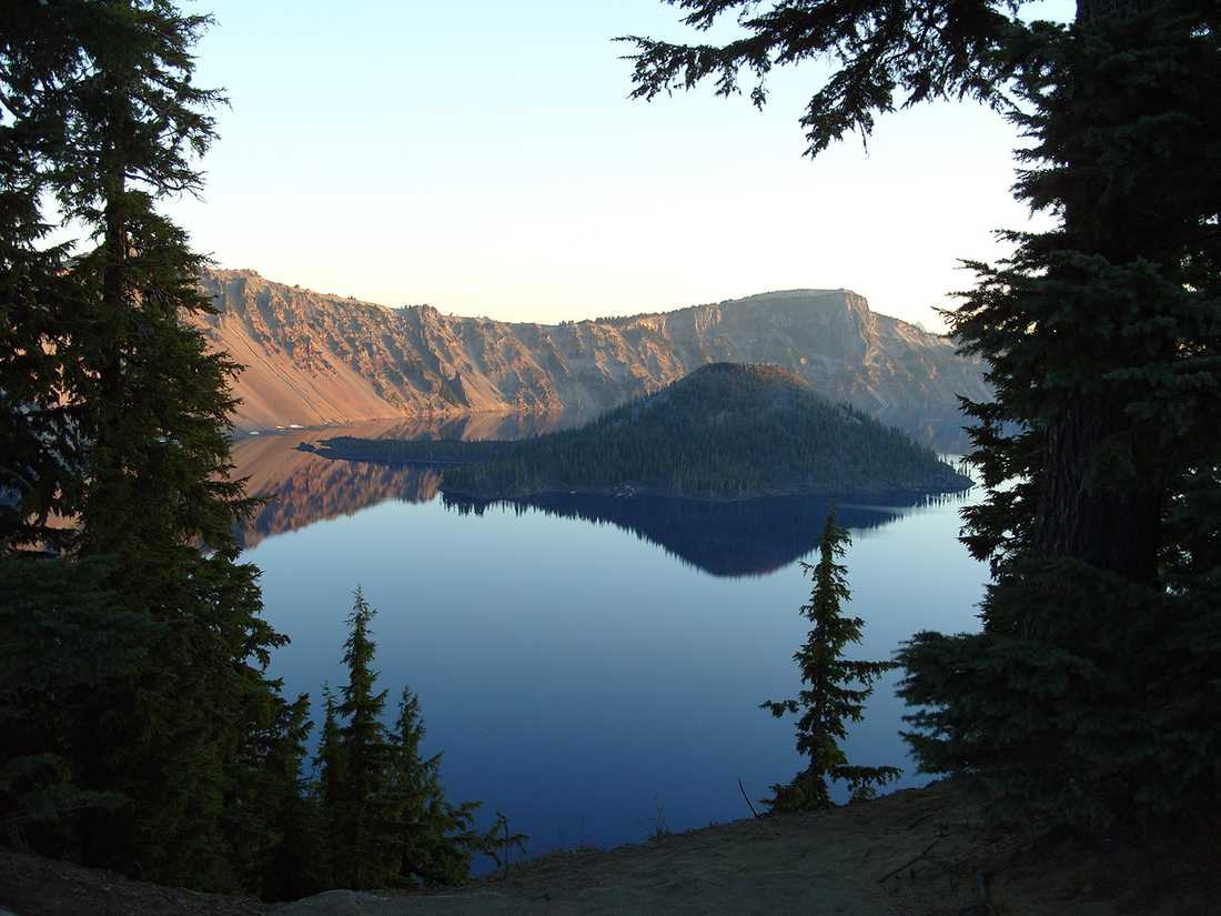 Crater Lake i Oregon
