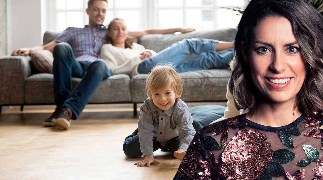 Nina skriver om skillnaden mellan svenska och italienska föräldrar som hon har noterat.