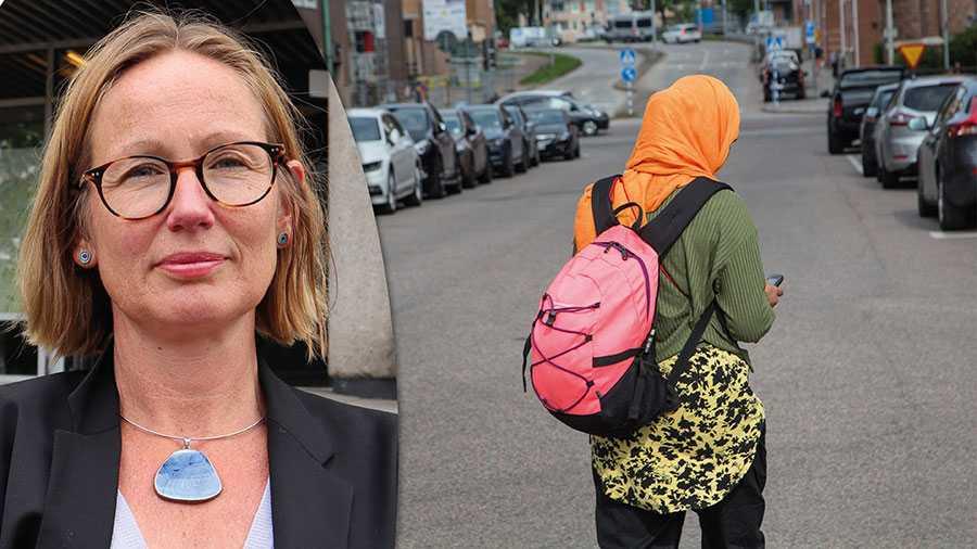 Ett slöjförbud är inte rätt väg att komma tillrätta med hedersproblematik – tvärtom, skriver skolkommunalrådet Sara Wettergren.