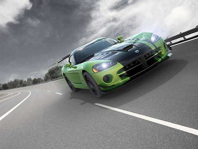 "Dodge Viper Snakeskin från förra ""final edition""."