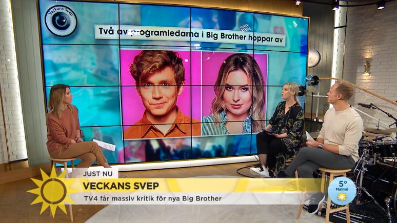 """I Nyhetsmorgon riktar Jenny Alversjö kritik mot castingen till """"Big brother""""."""