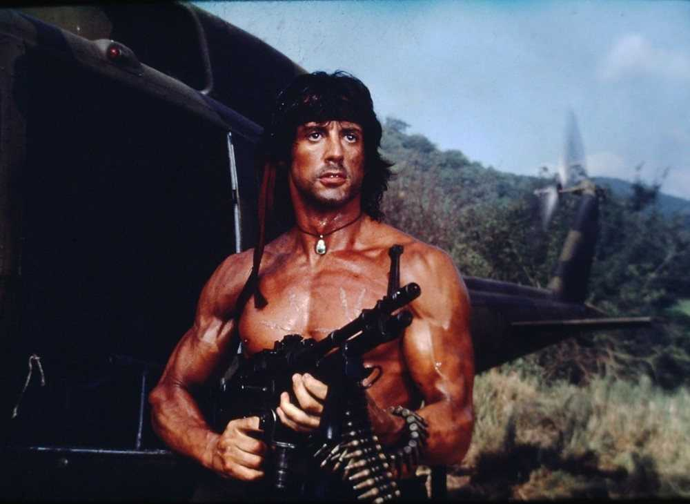 """Rambo: First blood part II"" (1985)."