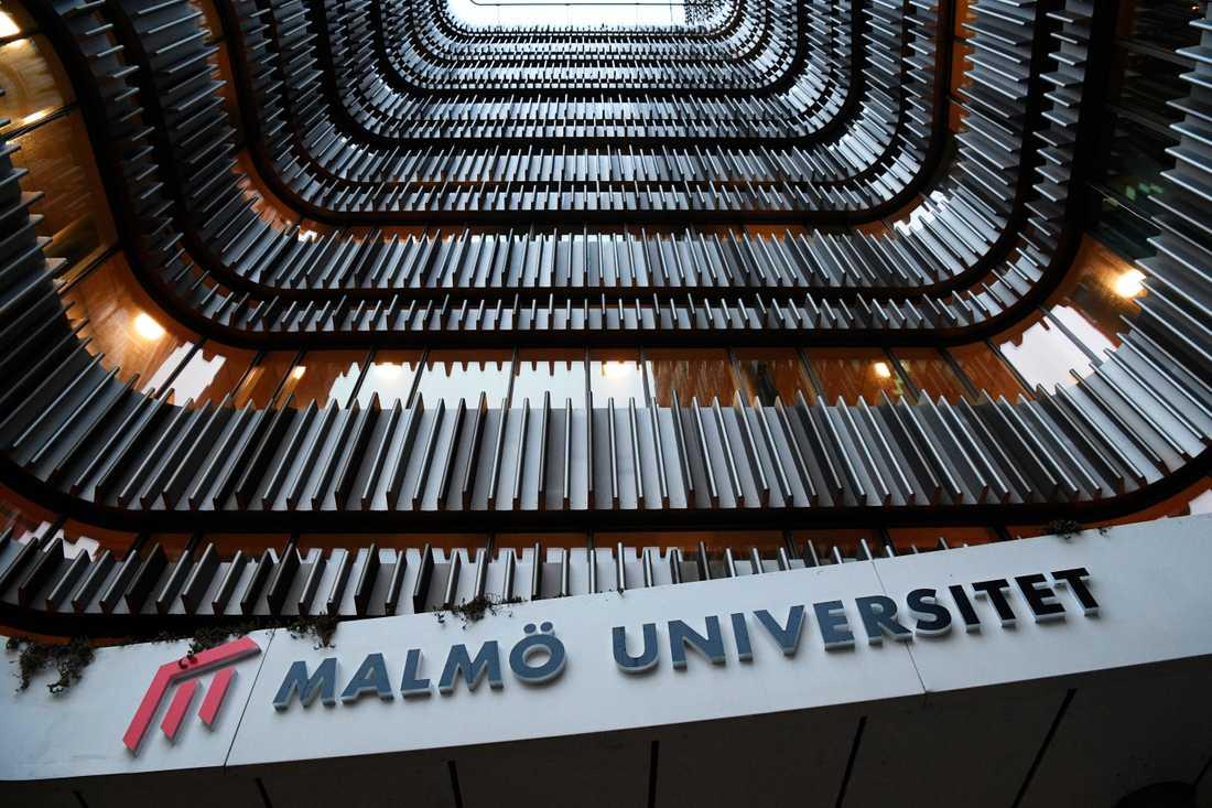 Det blir fortsatt distansundervisning på Malmö universitet under höstterminens första halva. Arkivbild.