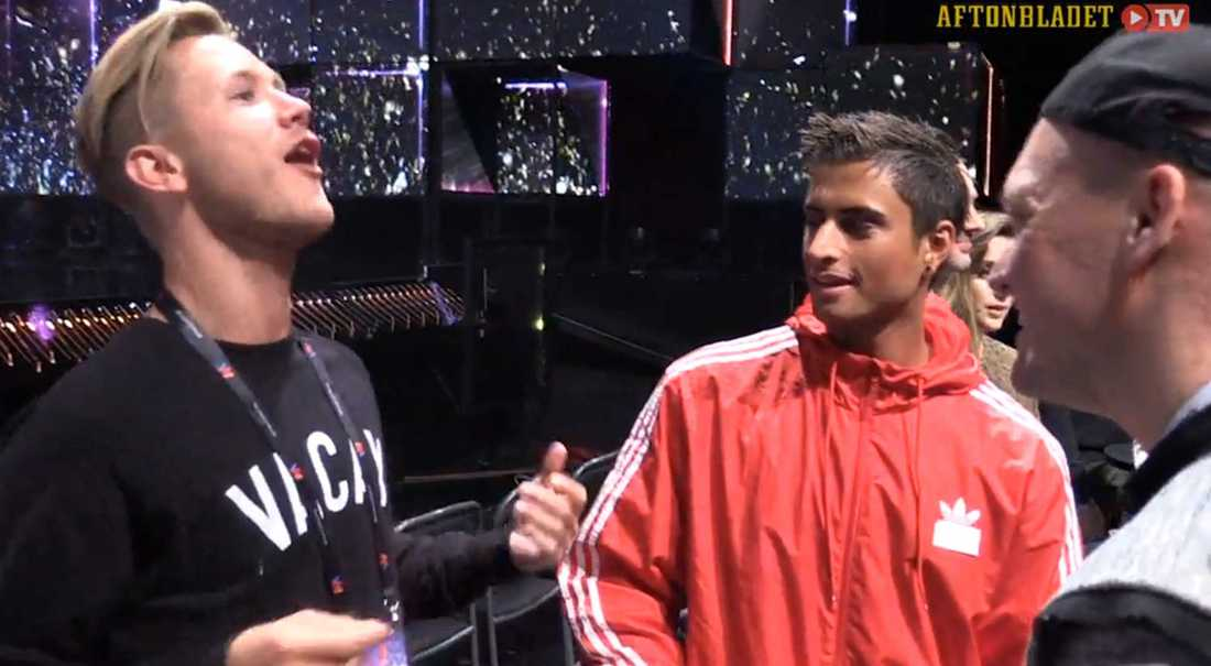 Samir och Viktor berättar om den vilda födelsedagsfesten.