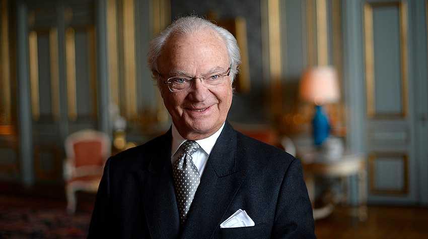 70 år i dag Kung Carl XVI Gustaf.