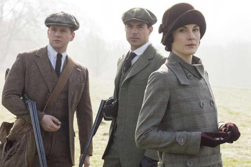 Lady Mary Crawley som spelas av Michelle Dockery.
