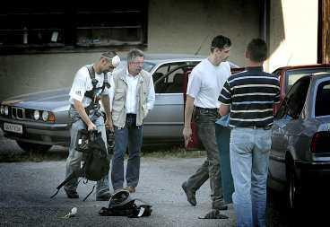 Tragedin inträffade i Graz i södra Österrike.