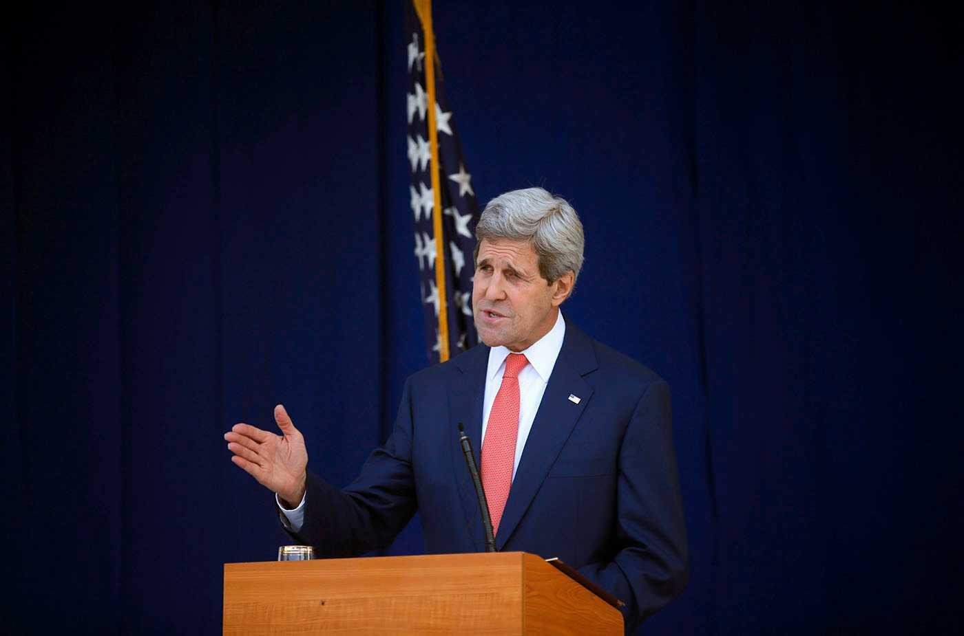 John Kerry, USA:s utrikesminister.