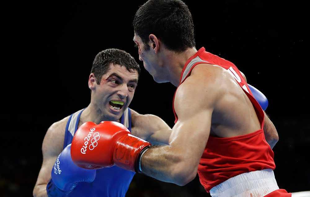 Misha Aloian silvermedaljör i OS