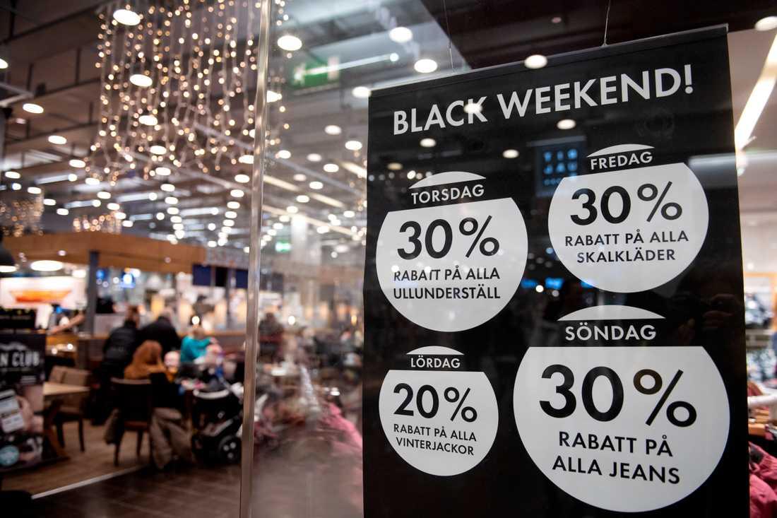 black friday rea stockholm
