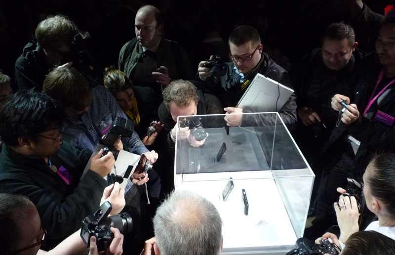 Tränseln var stor när SonyEricsson presenterade sina nya mobiler i Barcelona under söndagskvällen.
