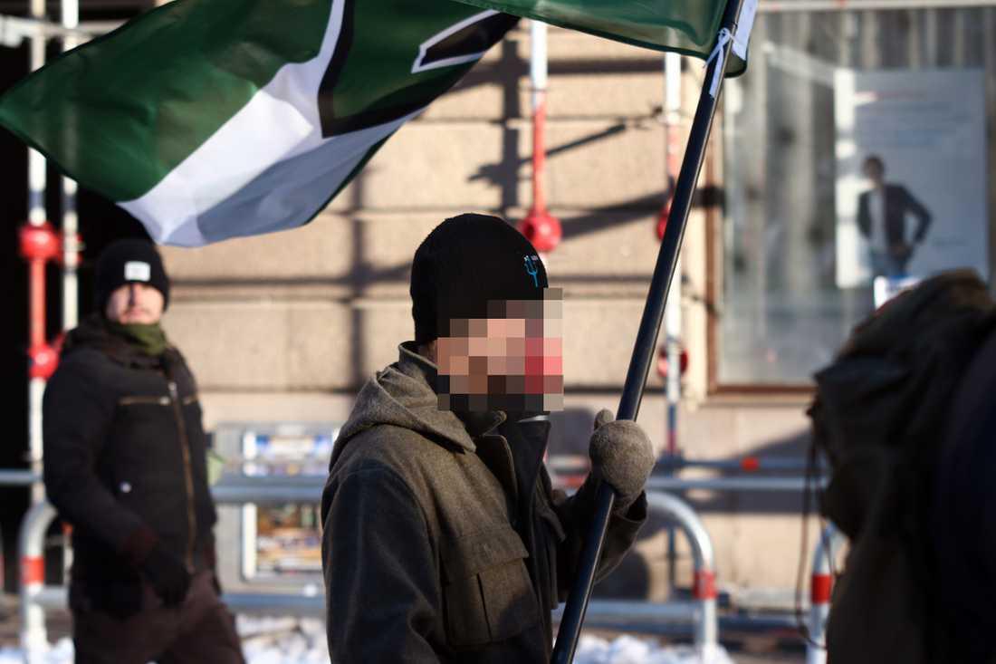 Den 50-årige misstänkte mannen. Aftonbladet har valt att inte visa ansiktet på de misstänkta bombmännen före fällande dom.