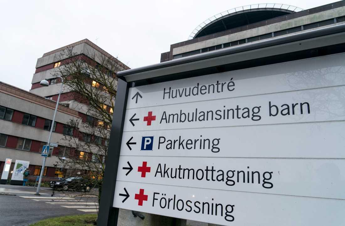 Mannen försvann från Lunds universitetssjukhus.