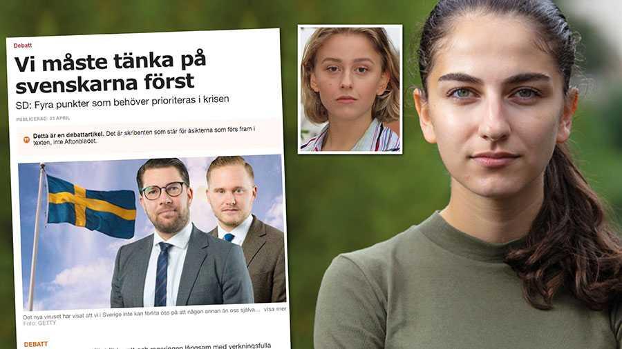 I tider som dessa visar sig alla idogt arbetande nya svenskar att SD har fel och vi har rätt. Invandringen är både ett nödvändigt inslag och enormt tillskott i vår välfärd. Tack vare samarbeten världen över kommer vi klara denna kris. Replik från Liberala ungdomsförbundet.