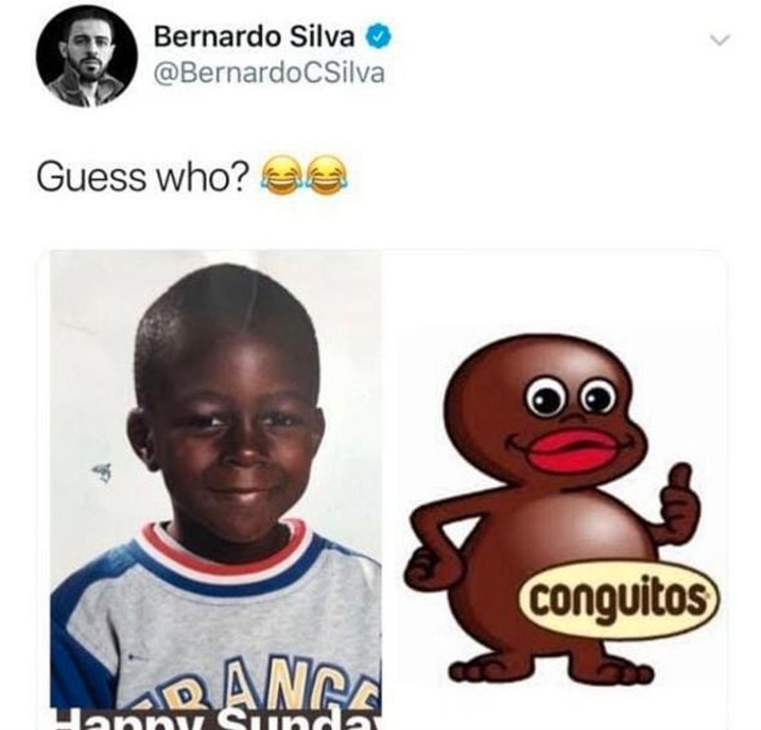 Bernardo Silvas tweet om Benjamin Mendy