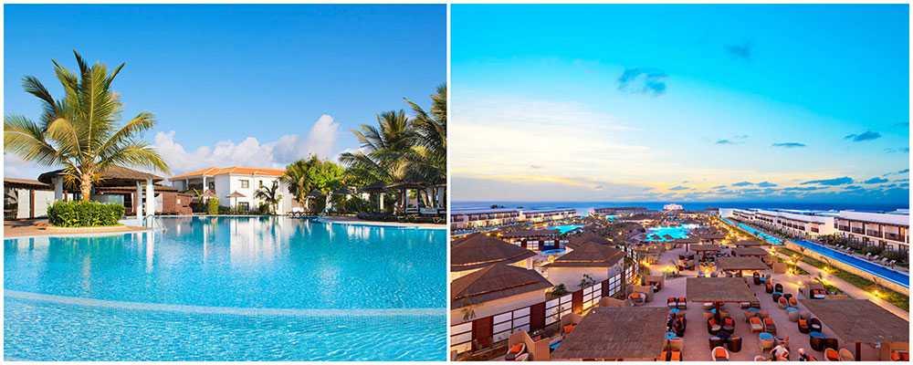 Snyggt hotell med ett härligt läge direkt vid stranden norr om öns huvudort Santa Maria. Meliá Tortuga Beach Ligger direkt vid stranden i lugna omgivningar.