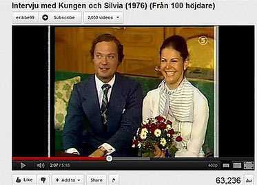 Så här berättar signaturen Stig-Britt: Den här bilden är hämtad från en tv-intervju.
